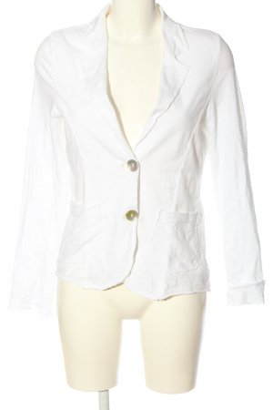 Susy Mix Knitted Blazer white casual look