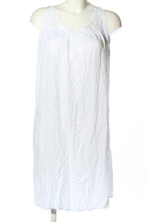 SusyMix Trägerkleid weiß Casual-Look