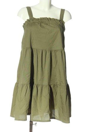 SusyMix Trägerkleid khaki Casual-Look