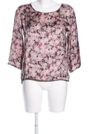 SusyMix Blusa a tunica motivo floreale stile casual