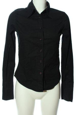 Sutherland Hemd-Bluse schwarz Business-Look