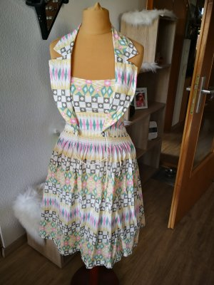 Blutgeschwister Halter Dress pale yellow