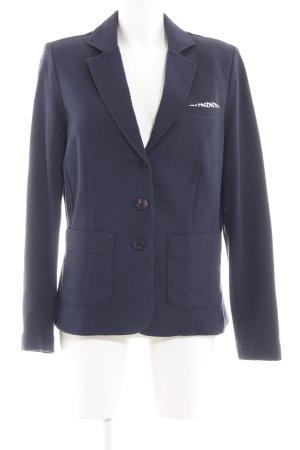 SuZa Sweatblazer blau Business-Look