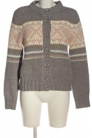 Suzanna Cardigan grafisches Muster Casual-Look