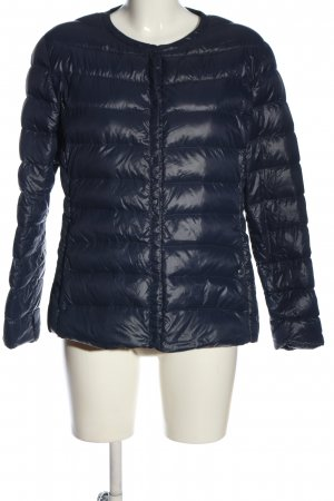 Suzanna Down Jacket blue quilting pattern casual look