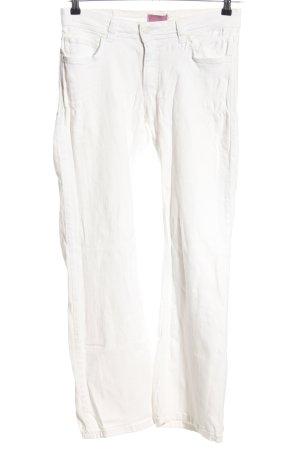 Suzanna Five-Pocket-Hose weiß Casual-Look