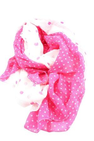 Suzanna Neckerchief pink-white allover print casual look