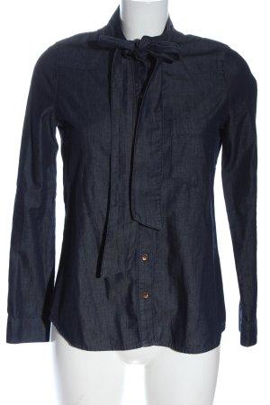 Suzanna Jeansowa koszula niebieski W stylu casual