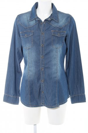 Suzanna Denim Shirt blue casual look
