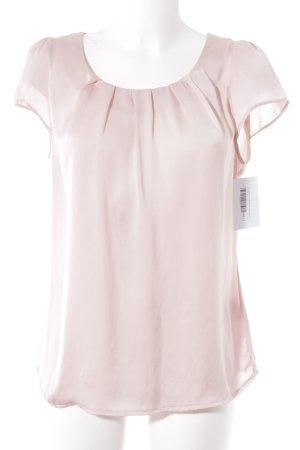 Suzanna Kurzarm-Bluse rosé Elegant