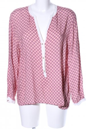 Suzanna Langarm-Bluse abstraktes Muster Casual-Look