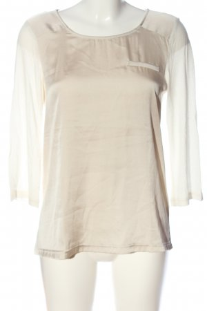 Suzanna Langarm-Bluse creme-wollweiß Casual-Look