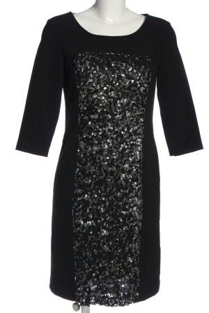 Suzanna Minikleid schwarz-silberfarben Casual-Look