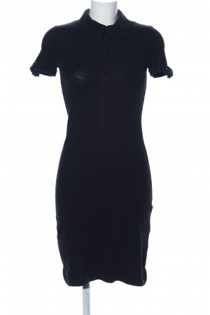 Suzanna Polo Dress black casual look