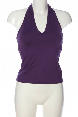 Suzanna Off-The-Shoulder Top lilac casual look
