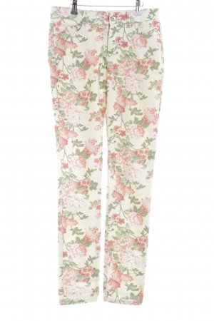Suzanna Stretch Jeans Blumenmuster Casual-Look