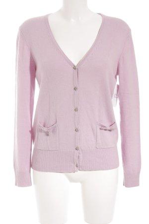 Suzanna Strickjacke rosa klassischer Stil