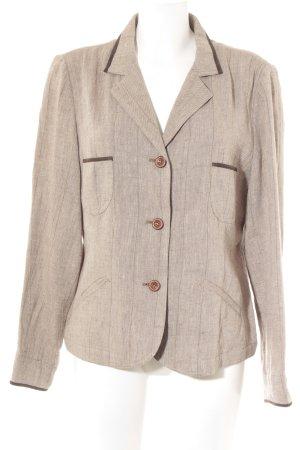Suzanne von Dörnberg Tradycyjna kurtka jasnobrązowy-ciemnobrązowy