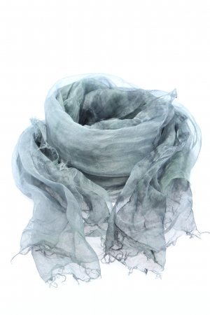 Suzusan Sommerschal blau-hellgrau Casual-Look