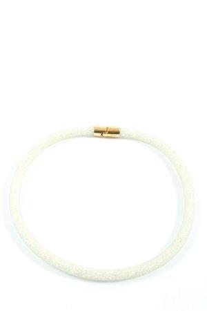 Svarowski Collier bianco elegante