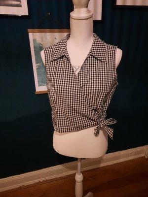 Burton Top koszulowy biały-czarny
