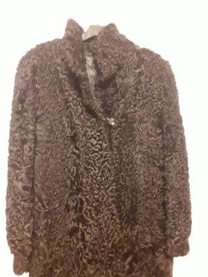 keine Manteau de fourrure noir