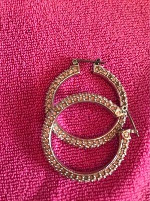 Swarovski Boucles d'oreilles en argent argenté