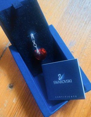 Swarovski Pendant red-silver-colored