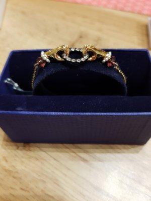 Swarovski Bracelet doré