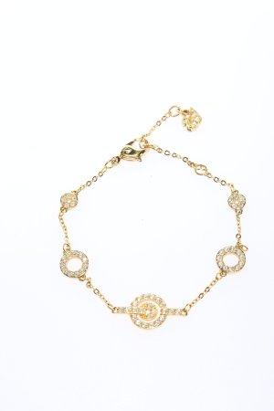 Swarovski Bracelet doré style décontracté