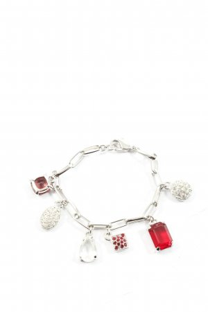 Swarovski Bracelet silver-colored-red elegant