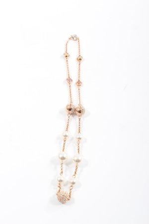 Swarovski Armband goldfarben-weiß Elegant