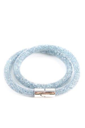 Swarovski Bracelet bleu motif à carreaux élégant