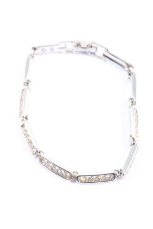 Swarovski Bracelet silver-colored casual look