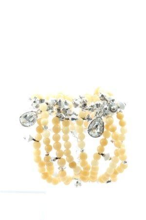 Swarovski Armband blassgelb-silberfarben Elegant