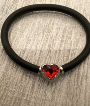 Swarovski Bracelet black-red