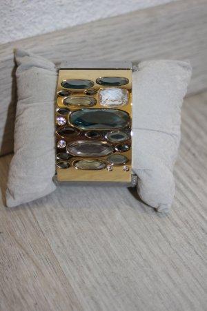 Swarovski Armband mit Steinen Gold Silber Bunt