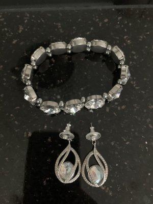 Swarovski Armband + Ohrringe