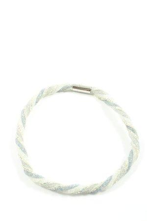 Swarovski Armband weiß-blau Elegant