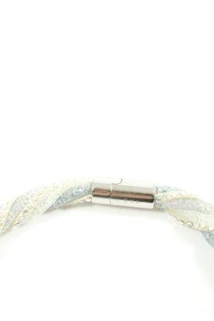 Swarovski Bracelet white-blue elegant
