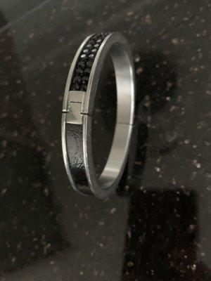 Swarovski Bangle silver-colored-black
