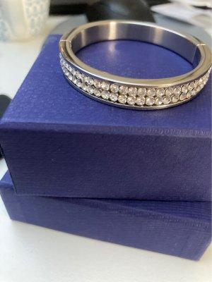 Swarovski Sztywna bransoletka srebrny