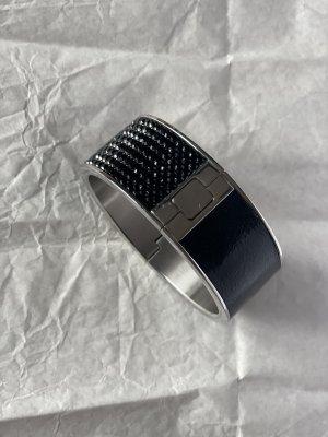 Swarovski Bracelet de bras argenté-noir