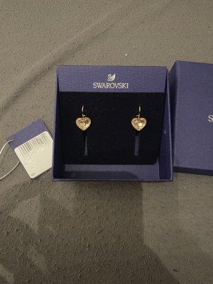 Swarovski Boucles d'oreille en or doré-or rose