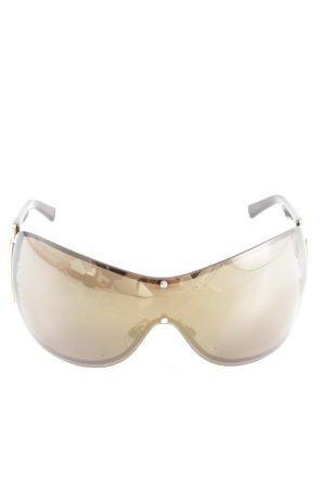Swarovski Glasses brown-gold-colored casual look