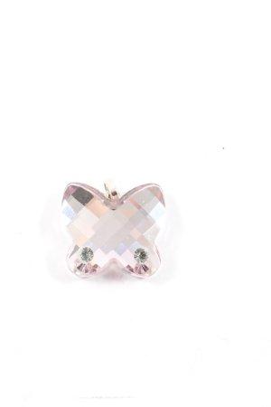 Swarovski Ciondolo rosa-argento stile casual