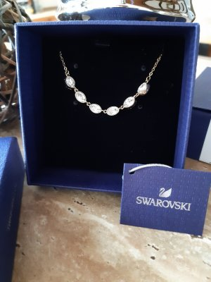 Swarovski Collar estilo collier color oro