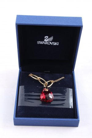 Swarovski Collier Necklace red-gold-colored business style