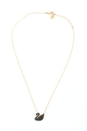 Swarovski Collier oro-nero elegante