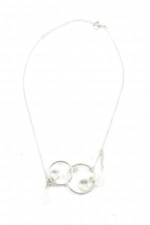 Swarovski Collier silberfarben Casual-Look